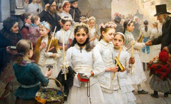 premiere communion enfant